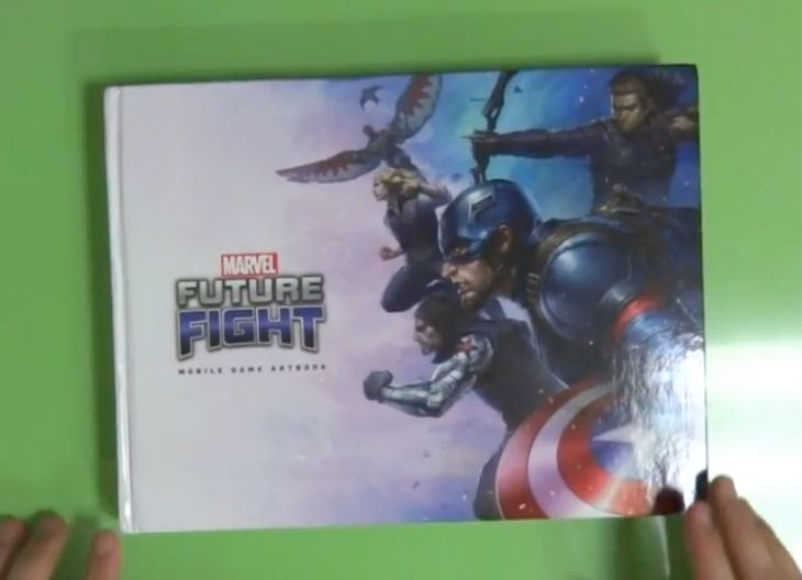 Happy Auto Sales >> Marvel Future Fight Art Book card opening, unboxed ...