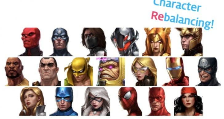 Marvel Future Fight 1.4.2 update notes will please fans