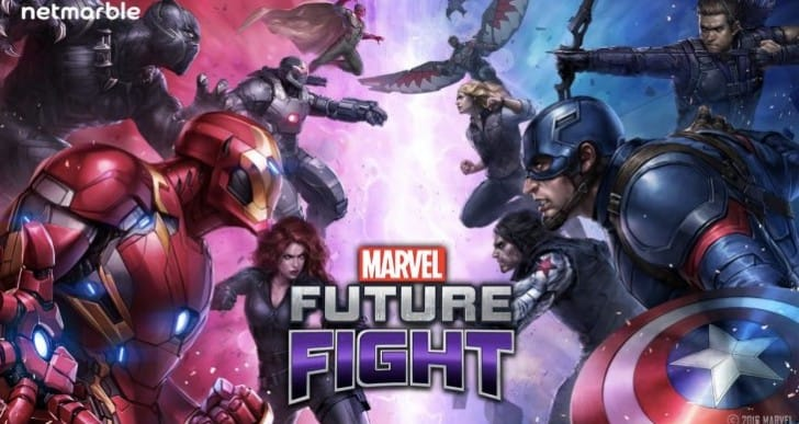 Marvel Future Fight New Tier 2 characters with hotfix
