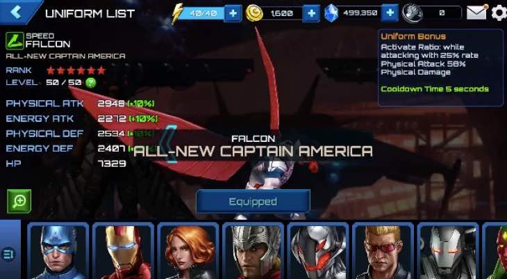 future-fight-falcon-cap-suit