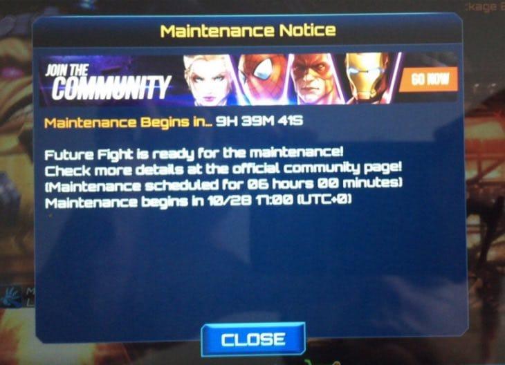 future-fight-halloween-maintenance-times