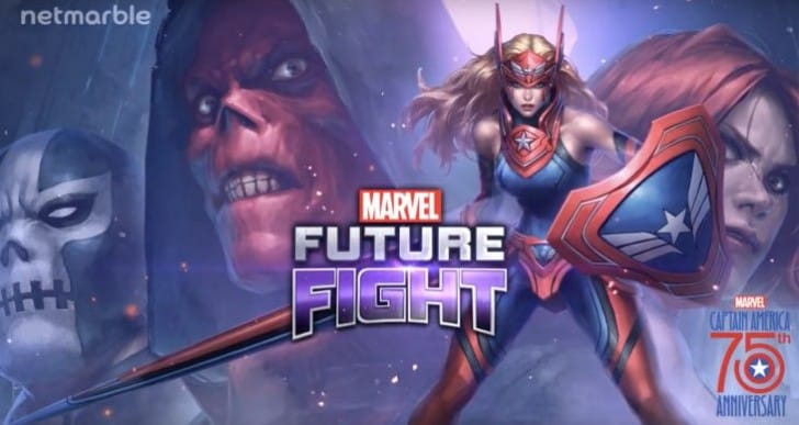 Marvel Future Fight 2.3 Uniforms preview