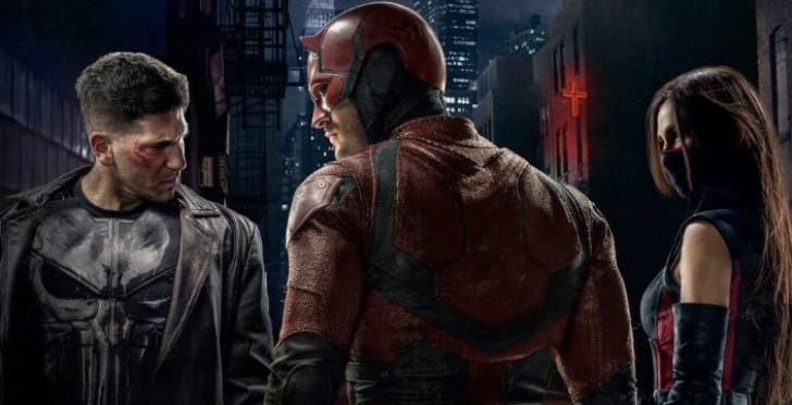 Future Fight Elektra, Punisher uniforms for Daredevil Season 2