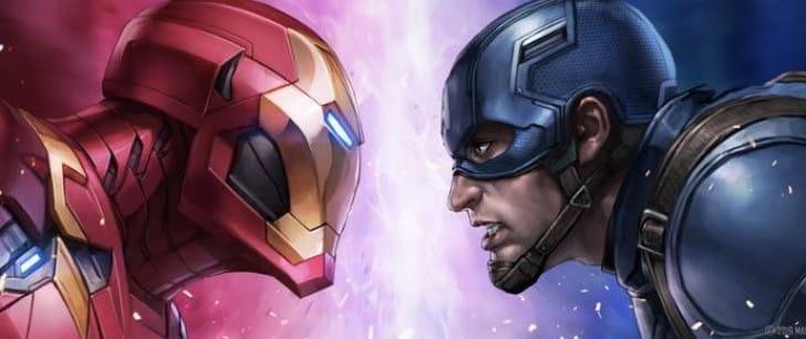 Marvel Future Fight Civil War Team Cap Vs Iron Man event
