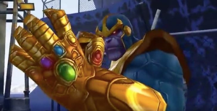 Future Fight Thanos gameplay shows what money can buy