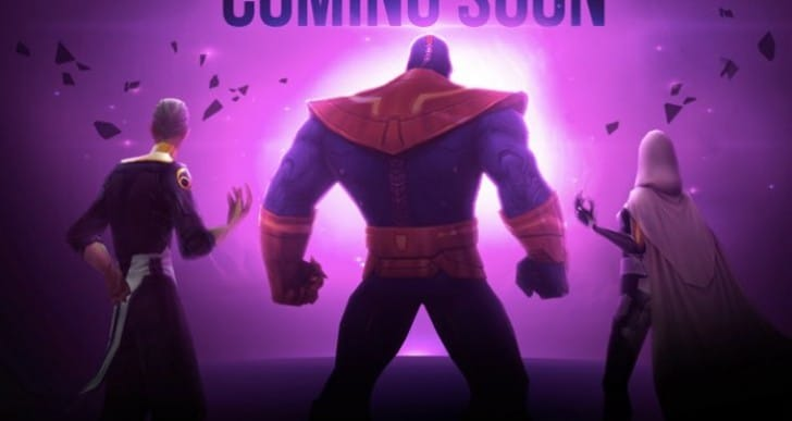 Future Fight 2.1.0 with Thanos, Supergiant, Ebony Maw playable