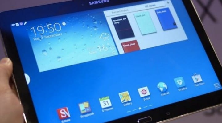 Galaxy Note 10.1 2014 Kitkat update live