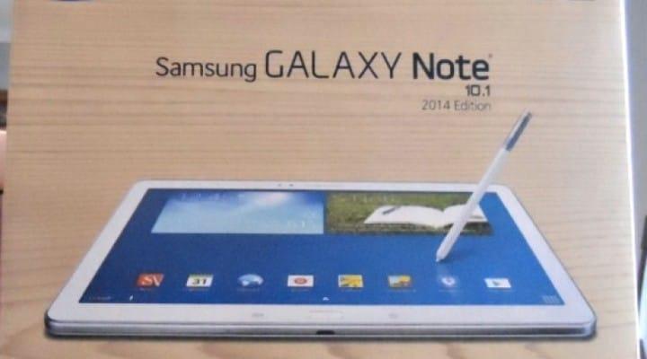 Verizon Galaxy Note 10.1 2014 release date imminent