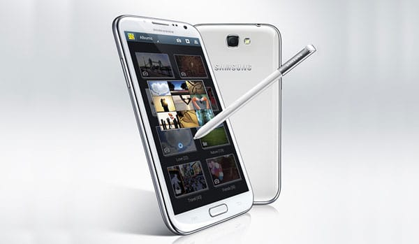 Samsung Galaxy Note 2 vs. multiple devices