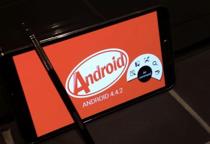 Galaxy Note 3 Android 4.4.2 Kitkat update rollout extends