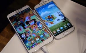 Samsung Galaxy S4 Vs Note 3 war after Android 4.4 update