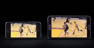 Samsung calls it a complete mismatch between the two.