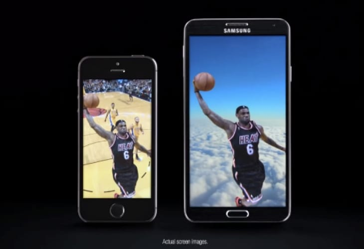 galaxy-note-3-vs-iphone-5s-lebron