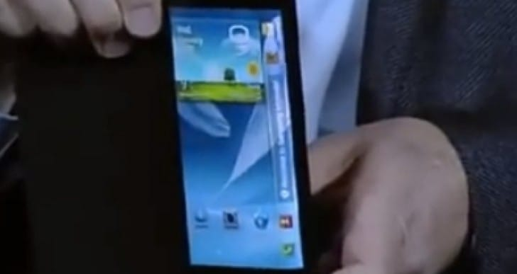 Galaxy Note 4 demand with display shock
