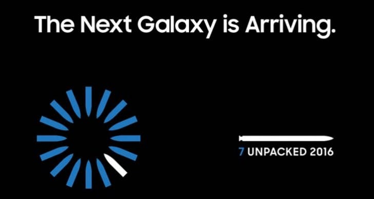 Galaxy Note 7 live stream on Unpacked 360 View app