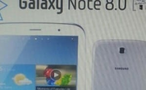 Samsung Galaxy Note 8.0 picture and specs start debate