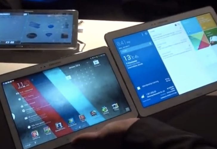 Galaxy Note Pro 12.2 Vs Galaxy Note 10.1 2014 examined