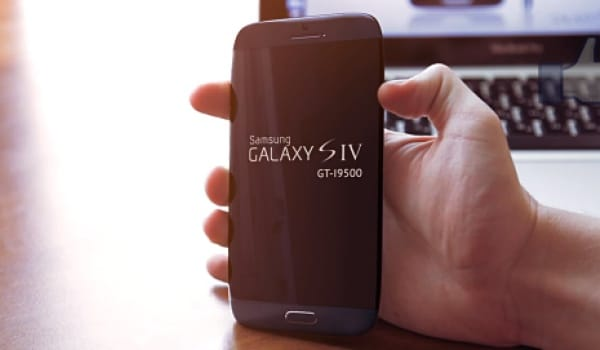 Samsung Galaxy S4 model number verified in concept