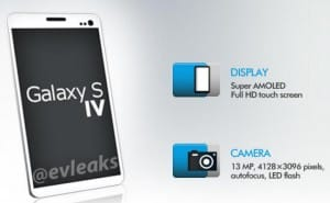 Samsung Galaxy S4 new design shown in render