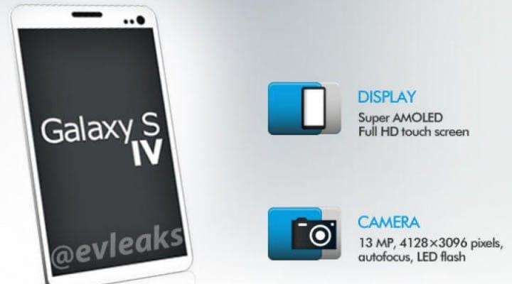 Samsung Galaxy S4 new design shown in render