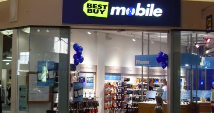 Verizon Samsung Galaxy S4 with Best Buy back route
