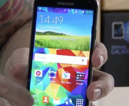 Samsung Galaxy S5 Lollipop update with ASOP build