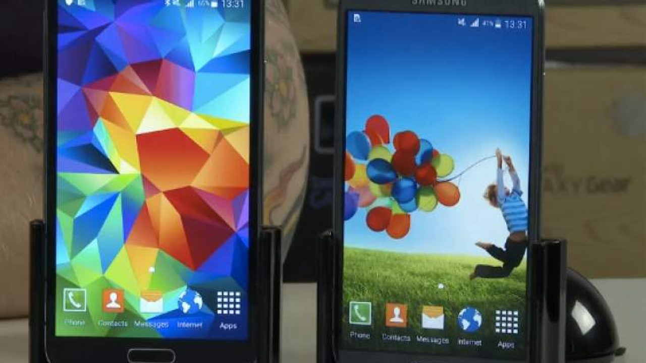 Samsung Galaxy S5 Vs S4 with Android 5 0 Lollipop update MIA