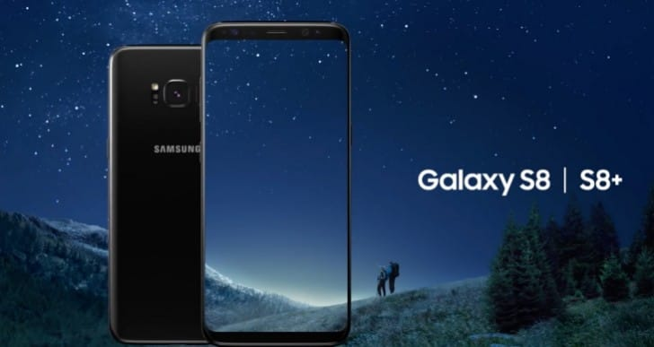Samsung Galaxy S8 specs graphic Vs iPhone 8 pressure