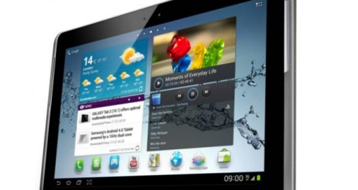 Galaxy Tab 2 10.1 gets Jelly Bean update on T-Mobile