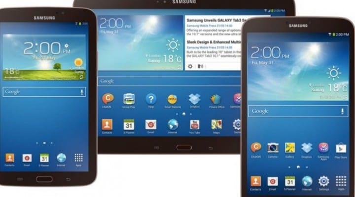 Samsung Galaxy Tab 4 on horizon after clues