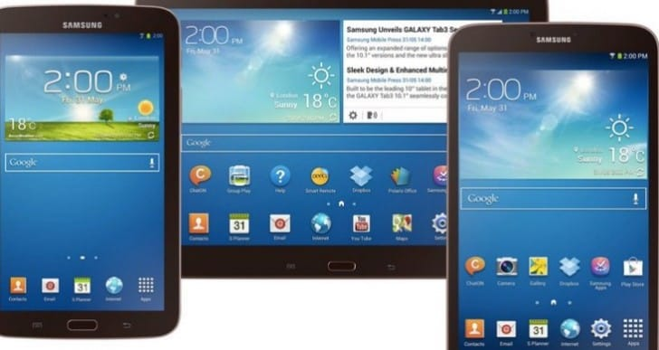 Samsung Galaxy Tab 4 on horizon after clues