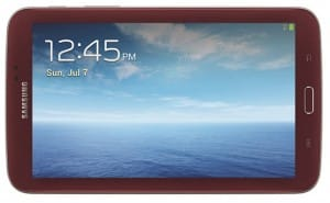 Galaxy Tab 3 Garnet Red exclusive to US