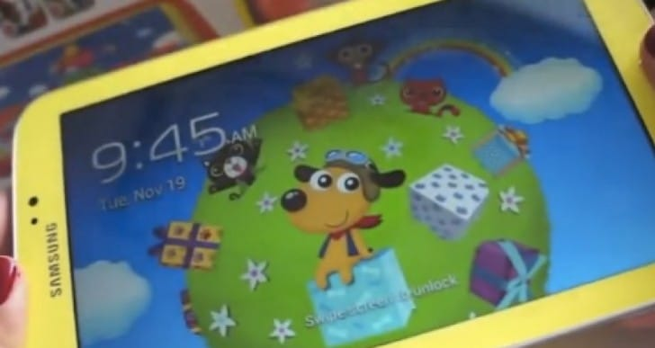 Samsung Galaxy Tab 3 Kids review for Christmas