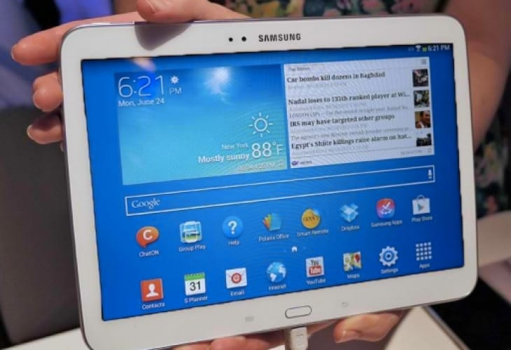 samsung preparing trio of new galaxy tabs for mwc 2014 product reviews net. Black Bedroom Furniture Sets. Home Design Ideas