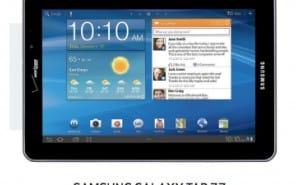 Samsung Galaxy Tab 7.7 Verizon update in 2014