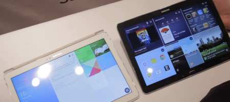 Two identical tablets..