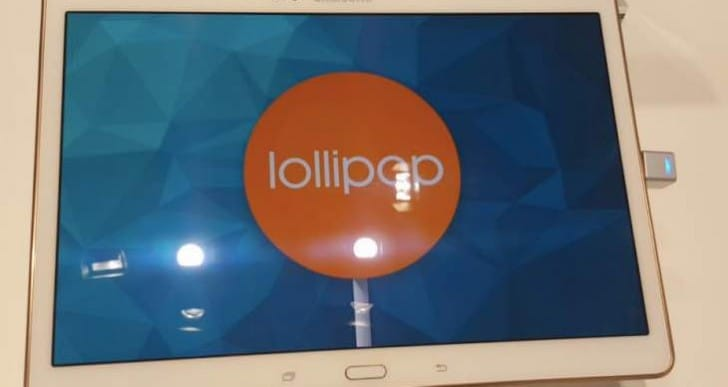 Galaxy Tab S Lollipop update release date imminent