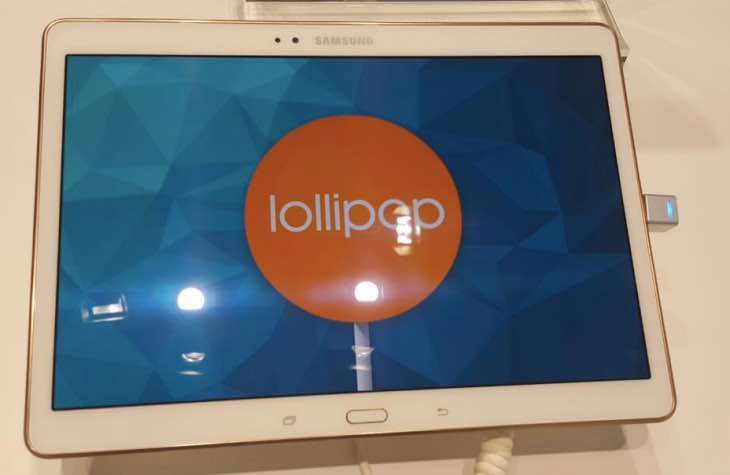 Samsung Galaxy Tab S 10.5 Android 5.0.2 update live