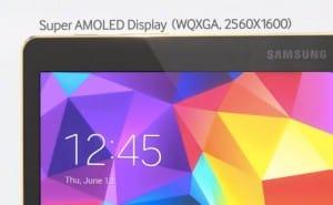 Samsung Galaxy Tab S 10.5 Vs iPad Air specs