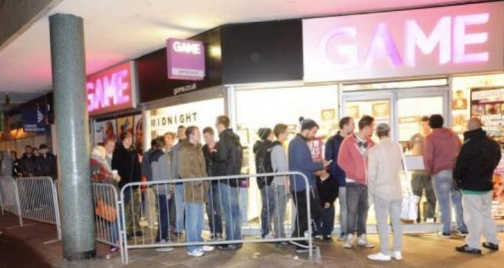 FIFA 16 midnight launch at GAME UK
