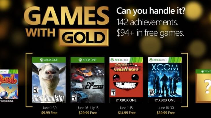 Xbox Games with Gold for June includes XCOM, Goat Simulator & more