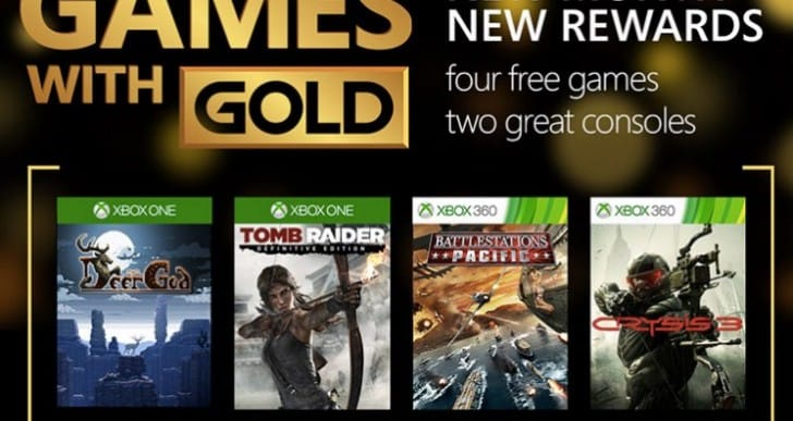 Games with Gold September 2015 better than PS Plus
