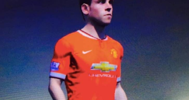 Gareth Bale in Man Utd shirt excites FIFA 15 fans