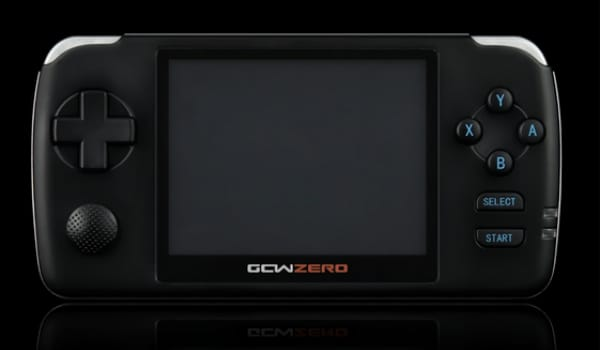GCW-Zero handheld offers emulators for kickstart