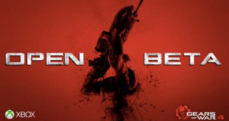 Gears of War 4 open beta download unavailable
