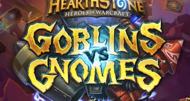 Hearthstone GVG release date update from Blizzard
