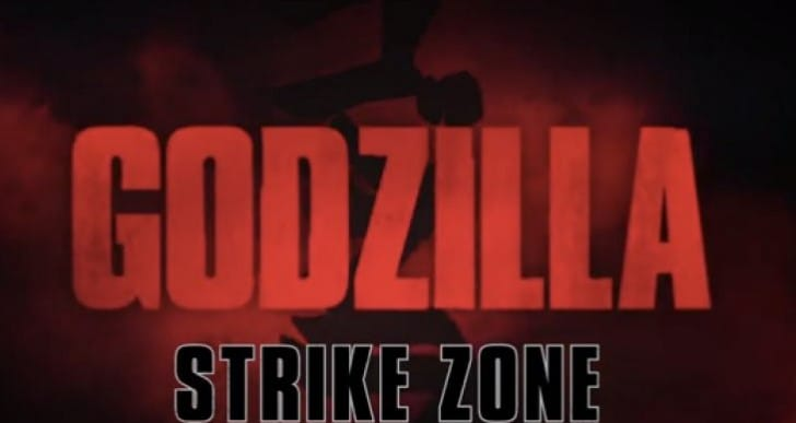 Godzilla Strike Zone app Vs Smash3