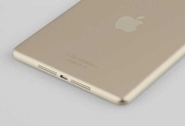 Gold iPad 5 and iPad mini 2 option unlikely