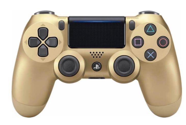 gold-ps4-controller-dualshock4
