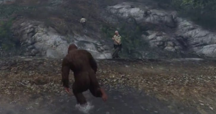 Find GTA V Sasquatch with Golden Peyote location